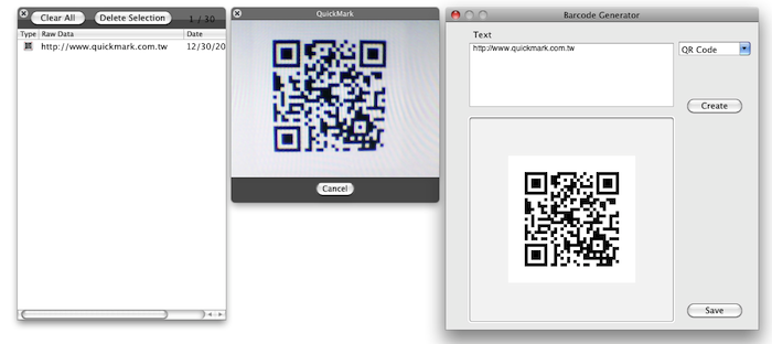 Mac App Store Preview: QuickMark QR Code Reader - MacStories