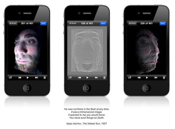 trimensional an iphone app that does 3d scanning macstories. Black Bedroom Furniture Sets. Home Design Ideas