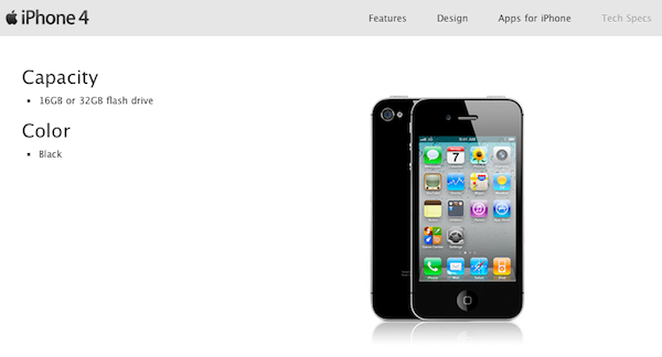 what is the latest iphone why is there a white iphone on verizon s website update 18213