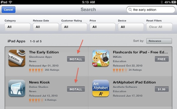 Finally: Previous Purchases Coming To iOS App Store
