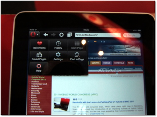 First Screenshots Of Opera for iPad [Update: Video ...
