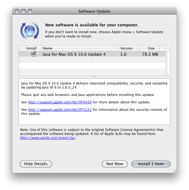 download latest java for mac leopard
