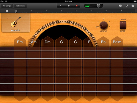 garageband for ipad now available macstories. Black Bedroom Furniture Sets. Home Design Ideas