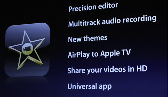 how to put imovie on apple tv