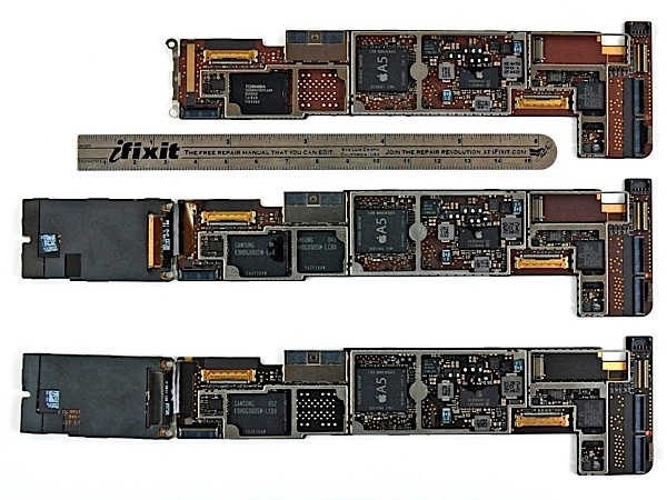 Ifixit Tears Down  Compares Wifi  Gsm And Cdma Ipad 2s
