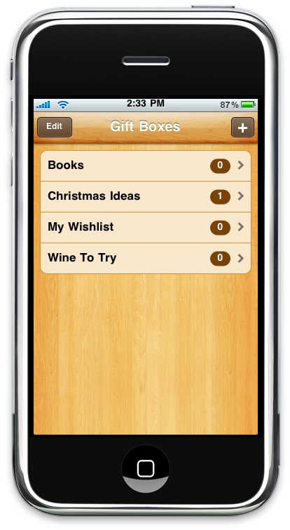 Gift Box iPhone