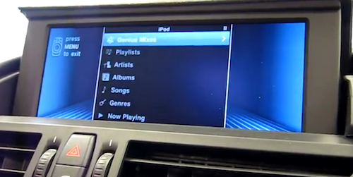 iPhone-based iDrive With BMW Apps Demoed On Video MacStories