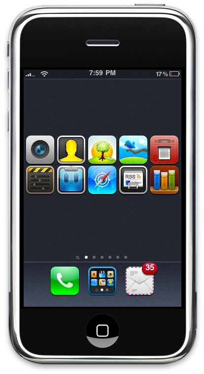 Iconoclasm iPhone