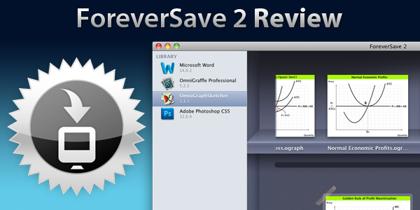 ForeverSave 2 Review: Universal Auto-Save And Versioning On Your Mac