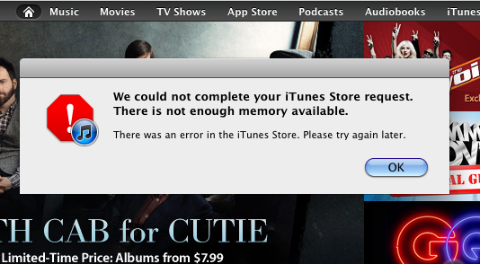 App Stores and iTunes Showing Trouble Worldwide [Update: Back Online