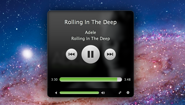 Simplify: A Spotify Music Controller and Artwork Widget for