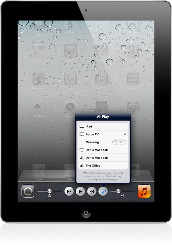 how to use mirroring on ipad
