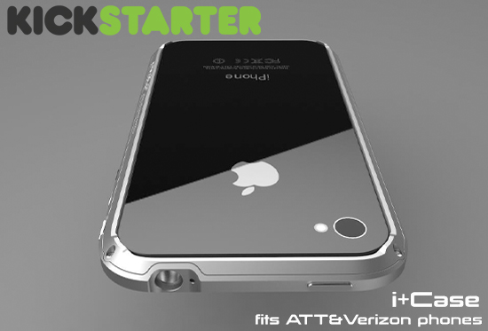 buy online 263a6 72ab7 Kickstarter: i+Case – Machined Aluminum Bumper Case for the iPhone ...