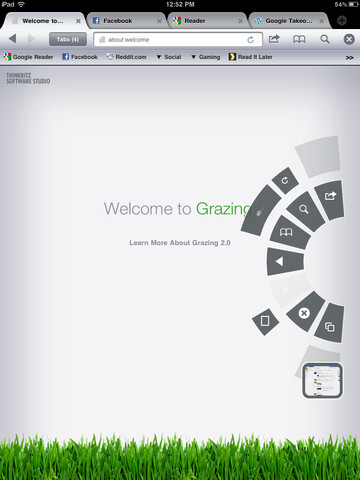 Grazing Web Browser 2