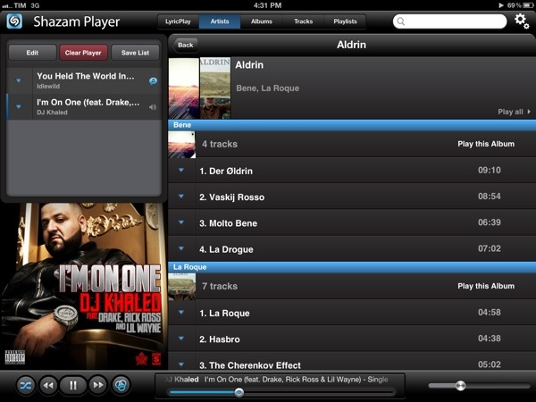 how to play music on ipad when locked