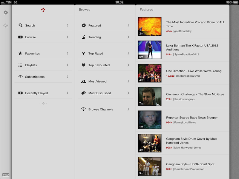 Jasmine: Free, Elegant YouTube Client for iPhone and iPad