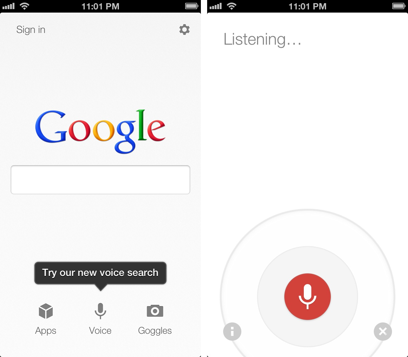 Search: Google Voice Search For IOS: Not A Siri Competitor, Still