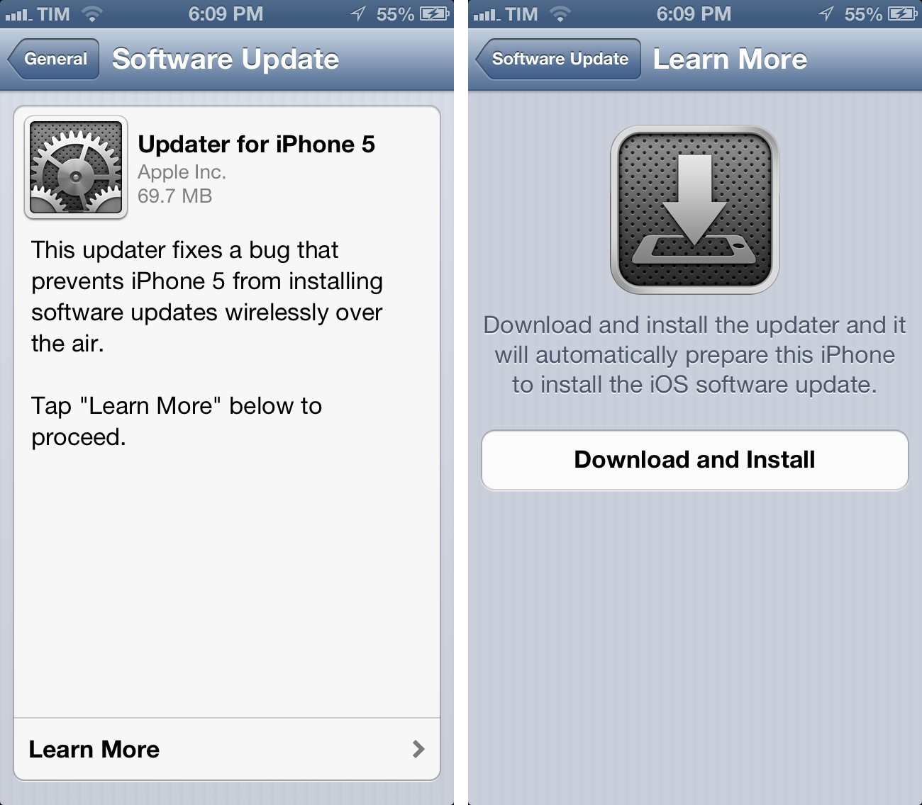 download software for iphone 5